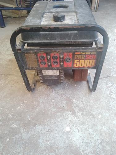 venta de planta de luz de 5000 marca coleman 120-240 funcina