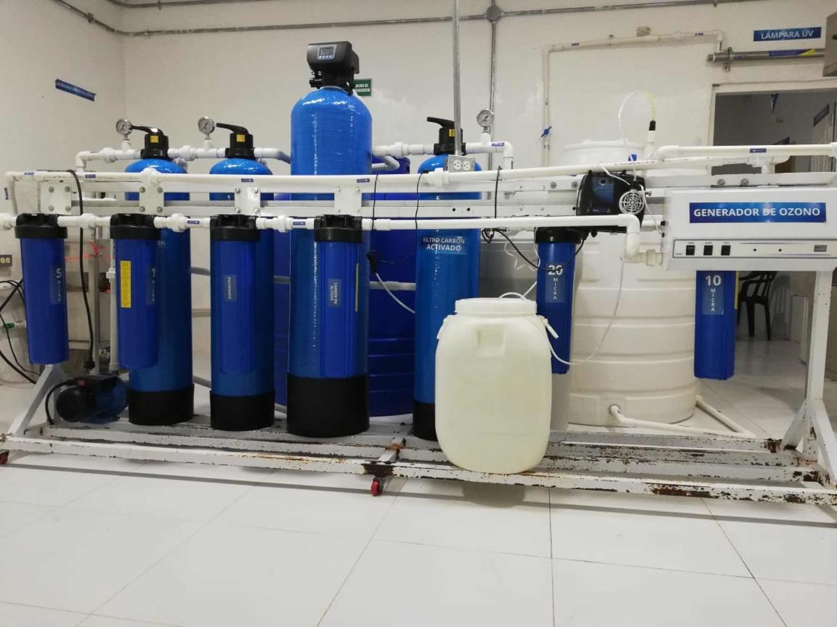 venta de plantas embotelladoras de agua de segunda como nuev