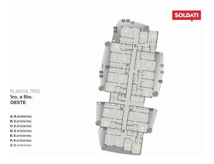 venta de pozo departamento 3 ambientes torre cristal barrio el portal nordelta