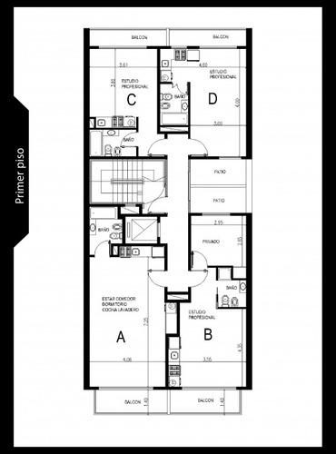 venta de pozo departamentos de 1 y 2 ambientes y local, entrega marzo de 2021 - villa luro