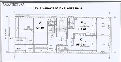 venta de pozo local y departamentos de 1 y 2 ambientes, entrega junio de 2021 - villa luro