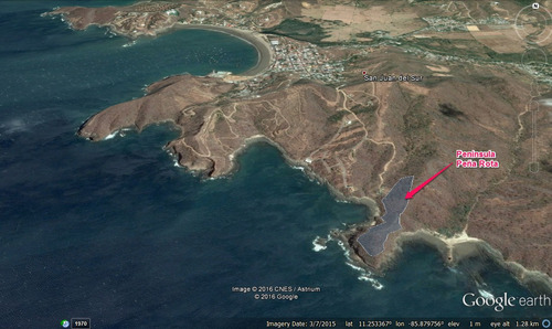 venta de propiedad a orillas del mar san juan del sur