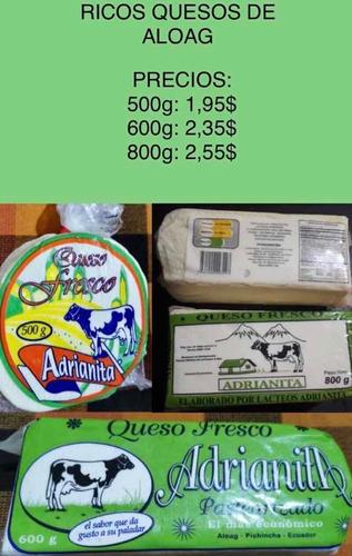 venta de quesos al por mayor y menor a domicilio
