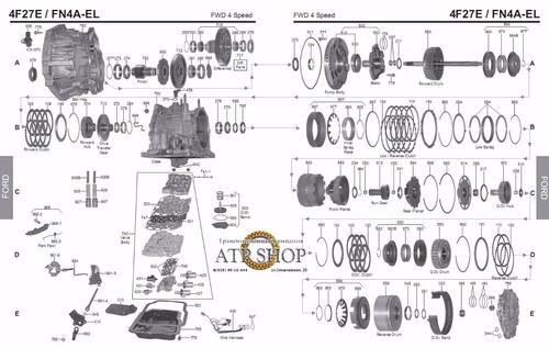 venta de repuesto para caja automoticas  ford laser 98