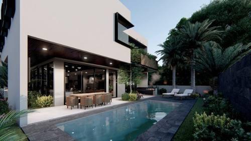 venta de residencia en yucatan country club, privada oasis