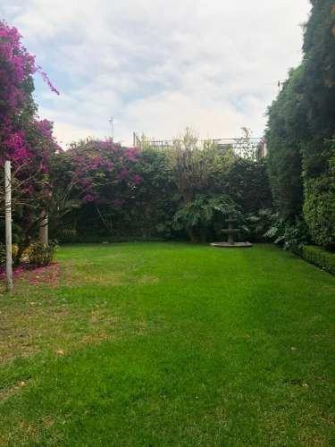 venta de residencia iluminada 560 m2 doble terreno jardín