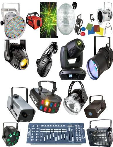 venta de sonido luces y proyectores a crédito sin inicial