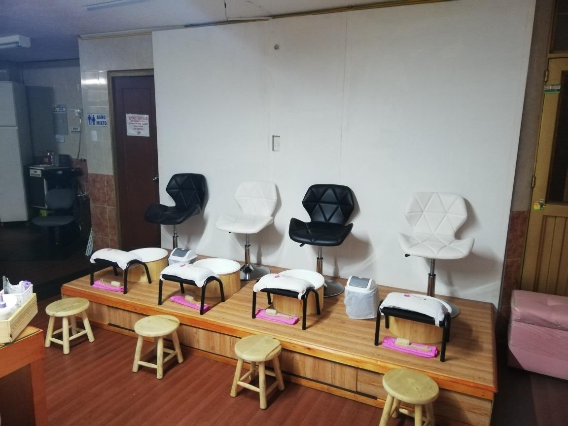 venta de spa de manos y peluquería