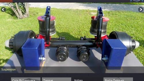 venta de suspensiones de aire ht-300 y accesorios