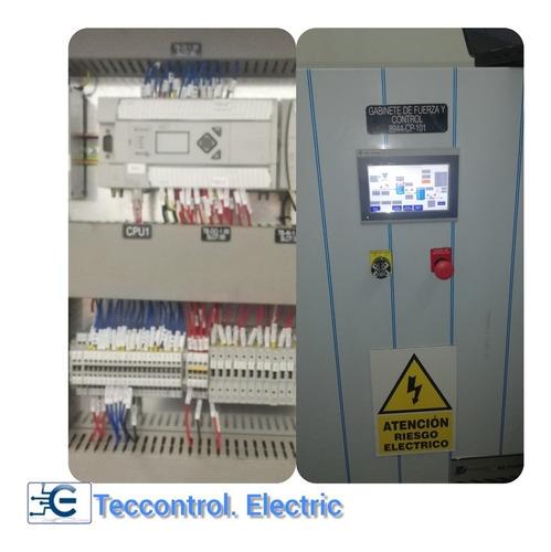 venta de tableros eléctricos de distribución, fuerza y contr
