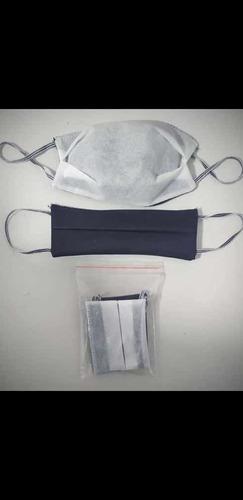 venta de tapa bocas  en tela politex quirúrgico doble tela