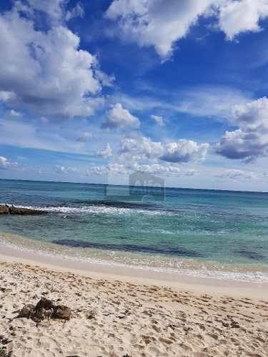 venta de terreno 1 hectarea con frente de playa en playa del secreto quintana roo