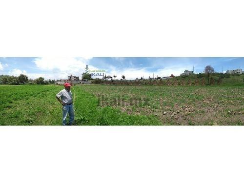 venta de terreno  38,808 m² colonia sn bernabe temoxtitla puebla. terreno rustico ubicado en calle pino sn en la colonia san bernabe temoxtitla, en el municipio de puebla, con una superficie de 38,80