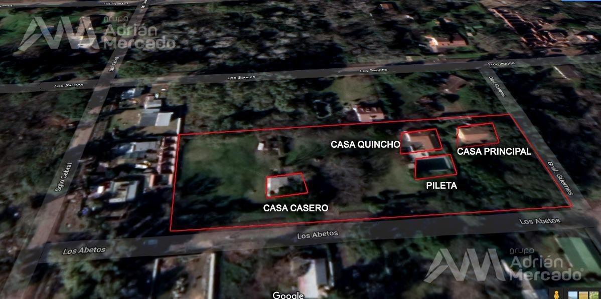 venta de terreno 5.450 mts2  ideal desarrollo inmobiliario pilar