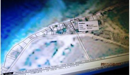 venta de terreno carretera costera norte km 6 cozumel
