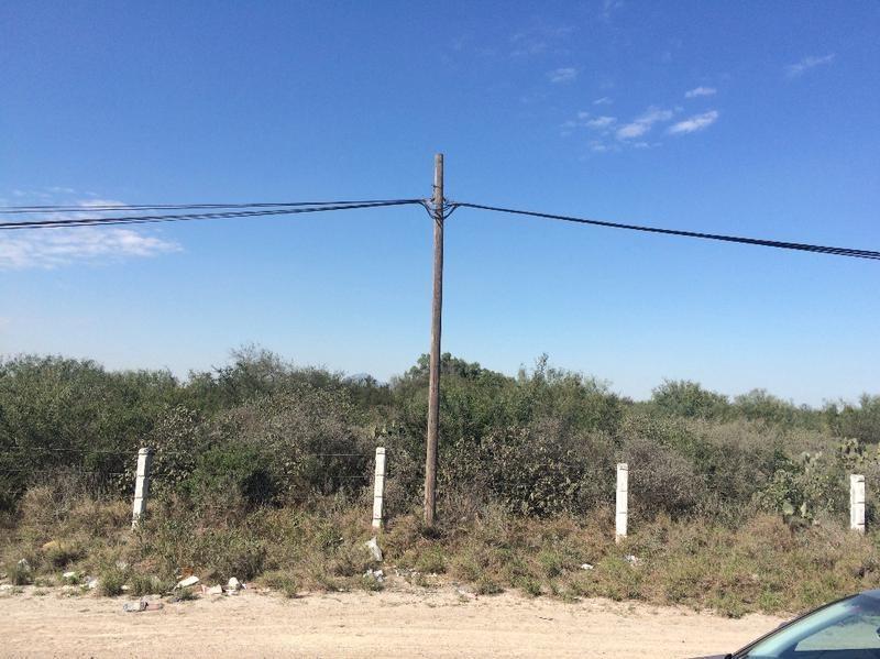 venta de terreno carretera laredo libramiento a santa rosa en apodaca