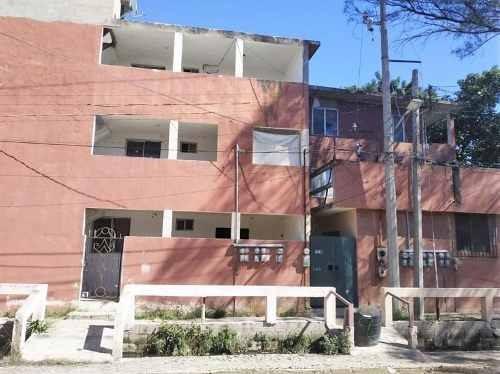venta de terreno con edificio de deptos col. hipódromo de cd. madero