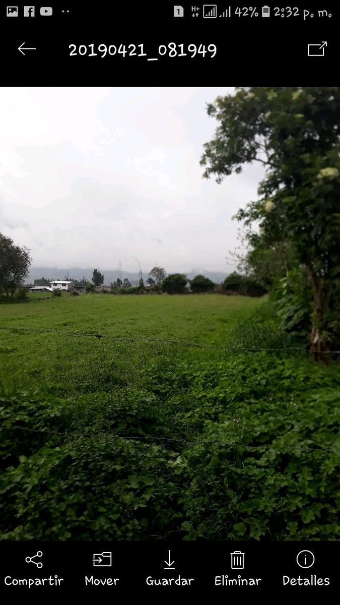 venta de terreno en aloasi