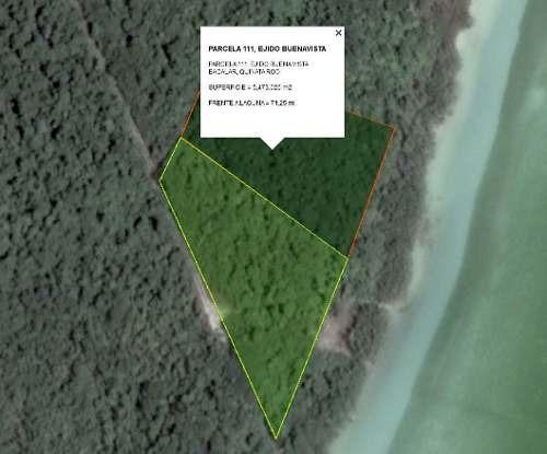 venta de terreno en bacalar $270,000 usd