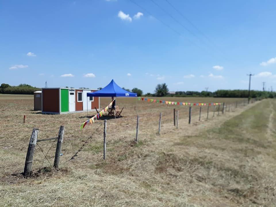 venta de terreno en barrio abierto ecotierra. terrenos en pueblo esther financiados en pesos.