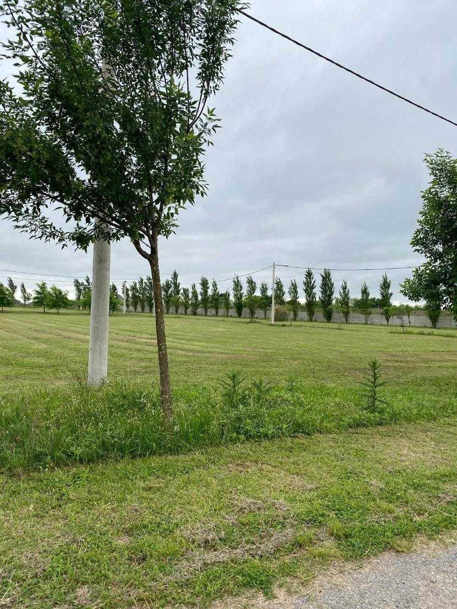venta de terreno en barrio cerrado las casuarinas. ibarlucea. lotes desde 455 m2. financiados. con entrega inmediata.