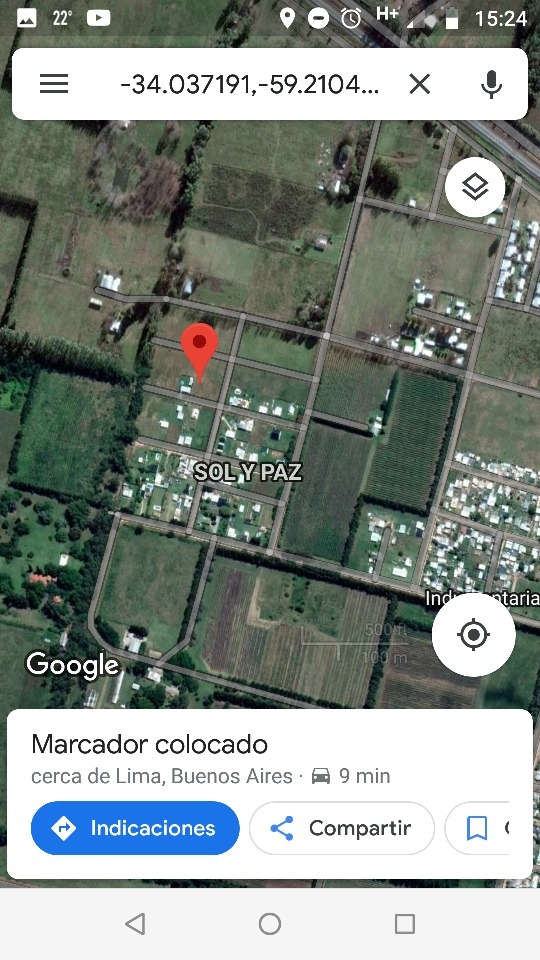 venta de terreno en barrio sol y paz - lima, zárate