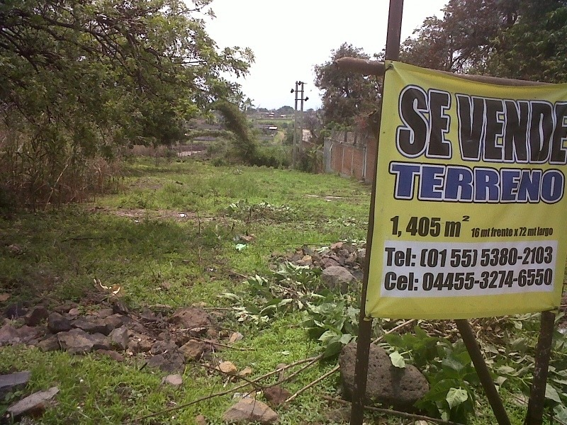 venta de terreno en carretera federal méxico cuautla