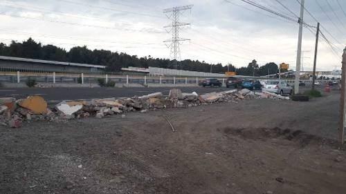 venta de terreno en carretera méxico toluca
