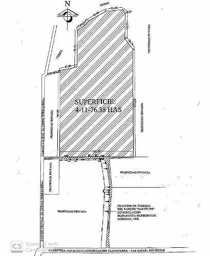 venta de terreno en córdoba veracruz! a 500 mts de parque industrial san roke