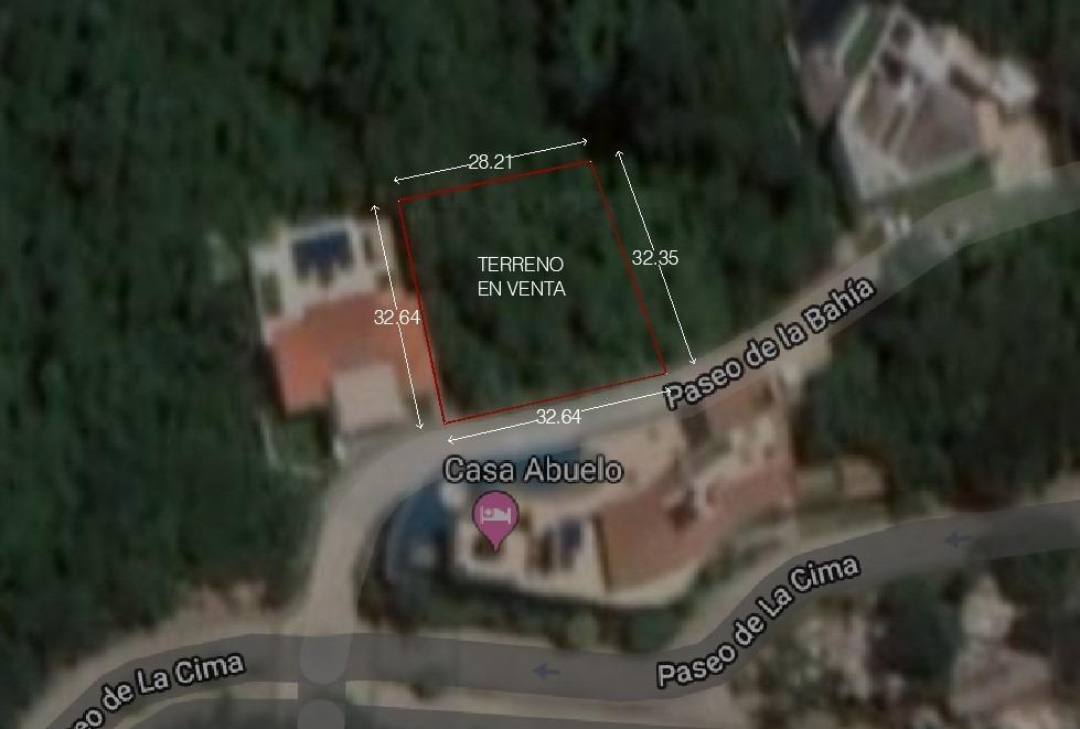 venta de terreno en la cima club residencial en acapulco