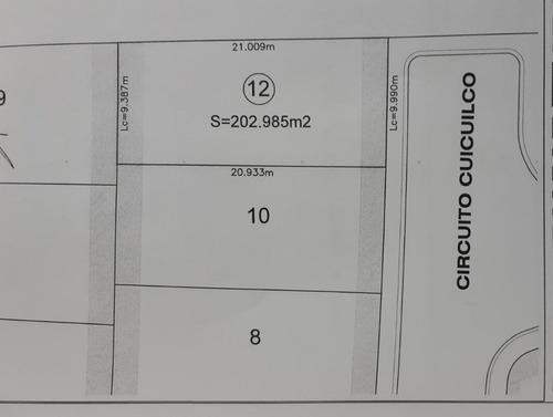 venta de terreno en lomas de angelópolis iii, parque anahuac! en esquina!