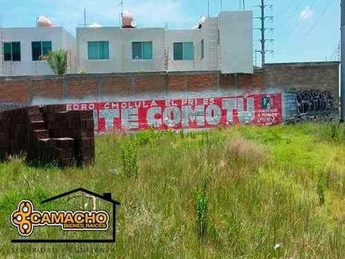 venta de terreno en momoxpan, san pedro cholula, opt-0119