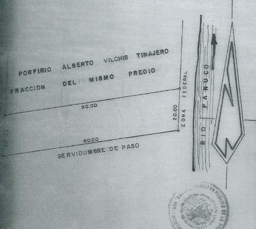 venta de terreno en pánuco ver, calentadores ii, carr.tampico-valles