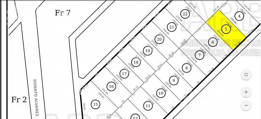 venta de terreno en parque industrial en bernal ( 25089)
