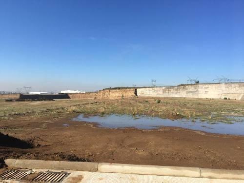 venta de terreno en parque industrial,alta tensión, agua potable