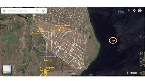 venta de terreno en puerto del aguila