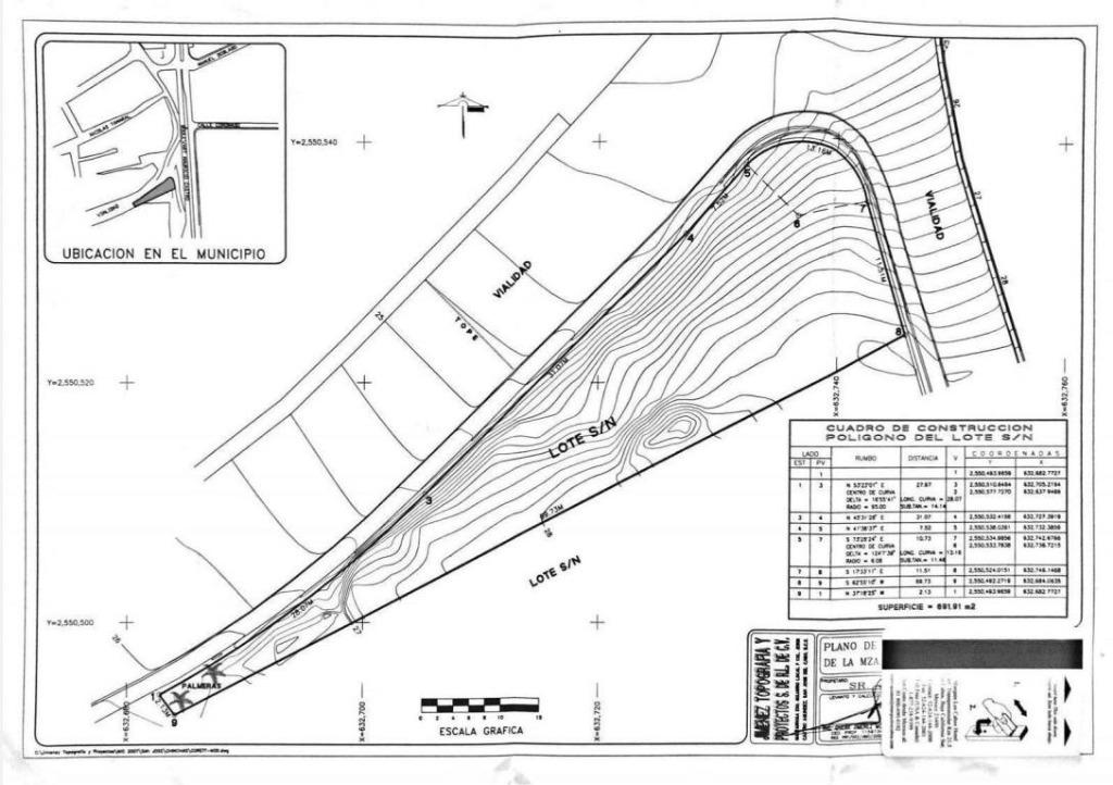 venta de terreno en san jose del cabo lote 271 plaza roma , el chamizal