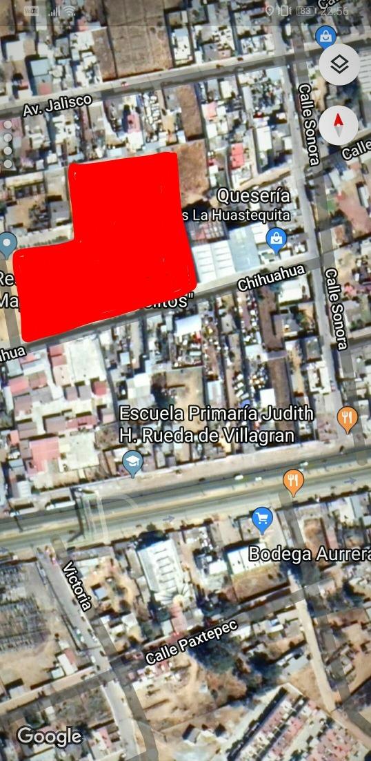 venta de terreno en tulancingo col. rojo gomez