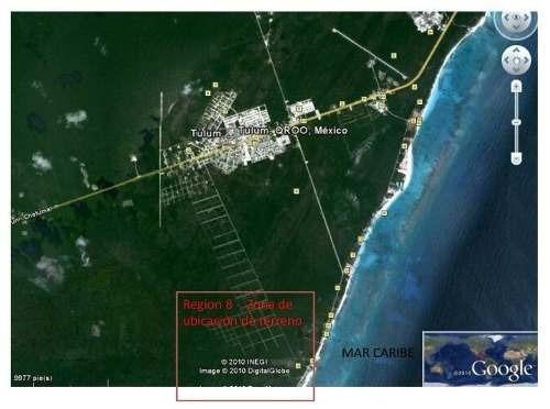 venta de terreno en tulum región 8 quintana roo
