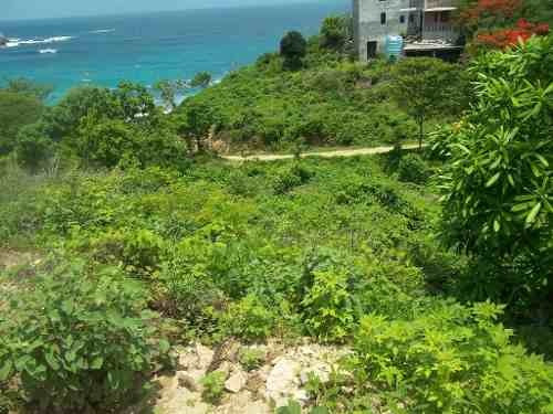 venta de terreno frente a la playa salchi
