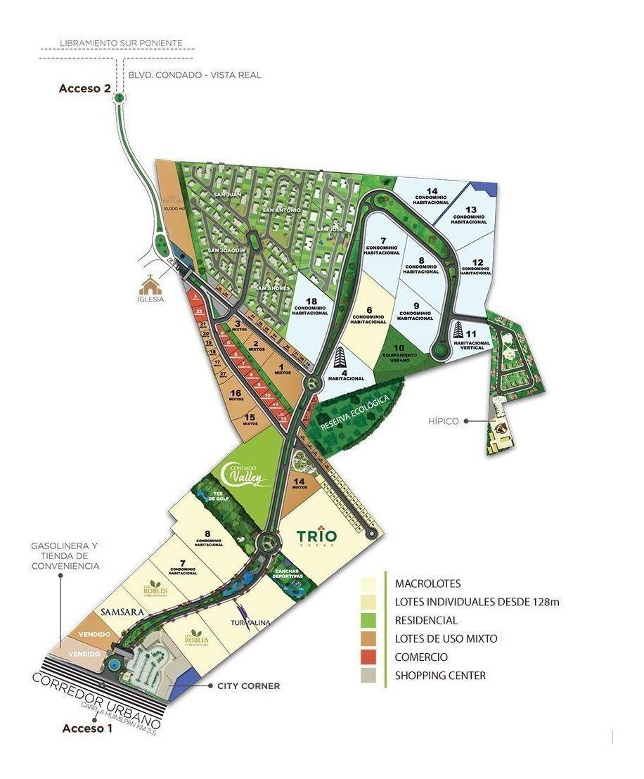 venta de terreno habitacional en el condado