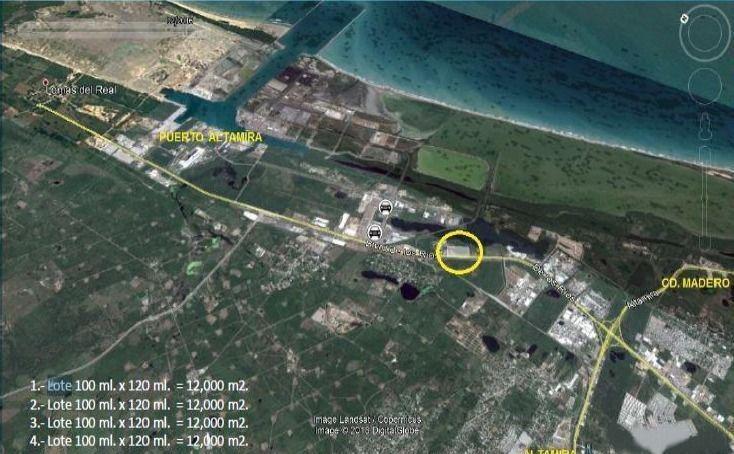 venta de terreno industrial en blvd de los ríos, altamira
