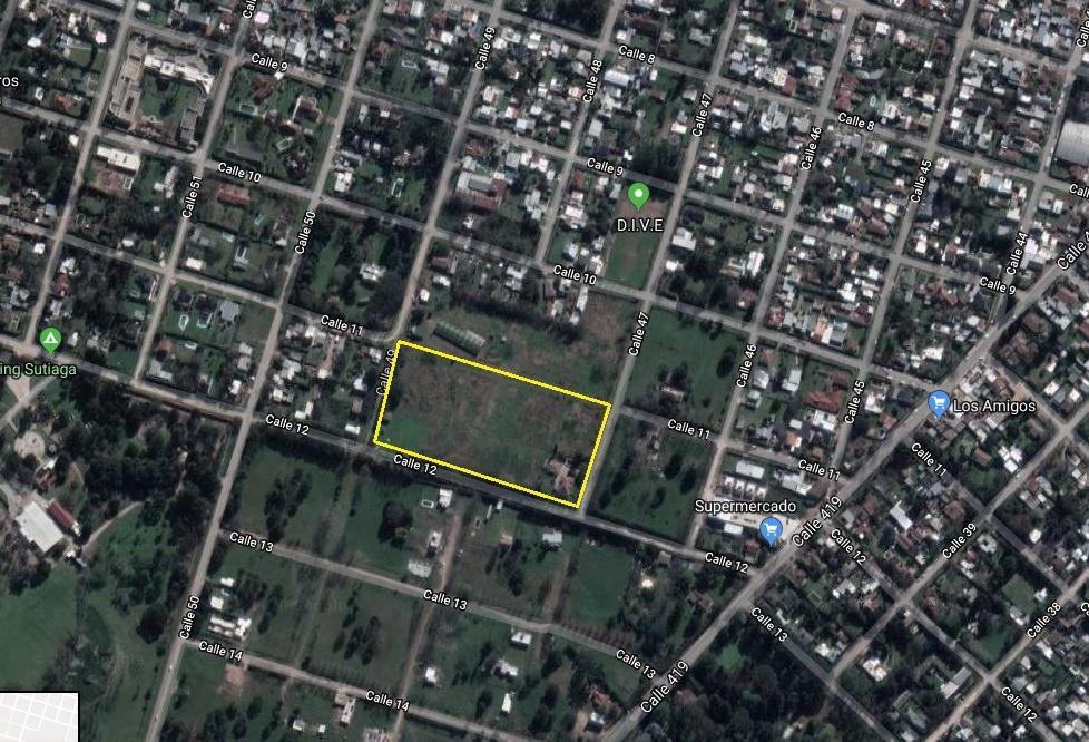 venta de terreno (lote 2) en 11 48 y 49, villa elisa