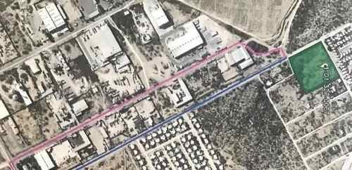 venta de terreno parque industrial