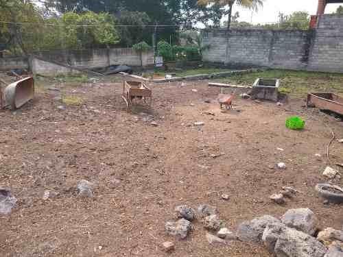 venta de terreno plano en jiutepec