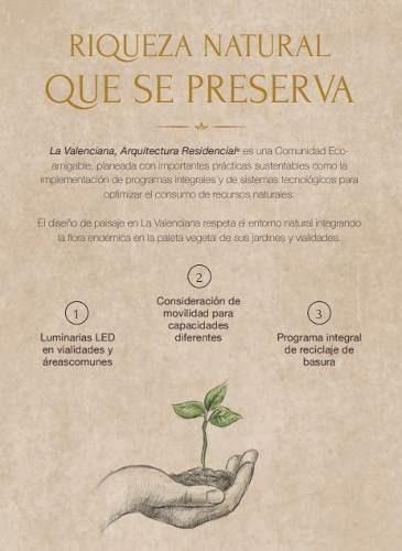 venta de terreno premium en  la valenciana