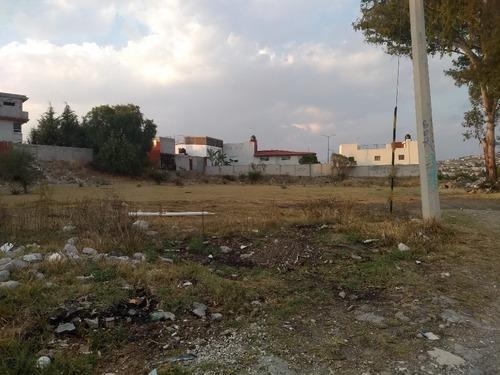 venta de terreno san francisco totimehuacan