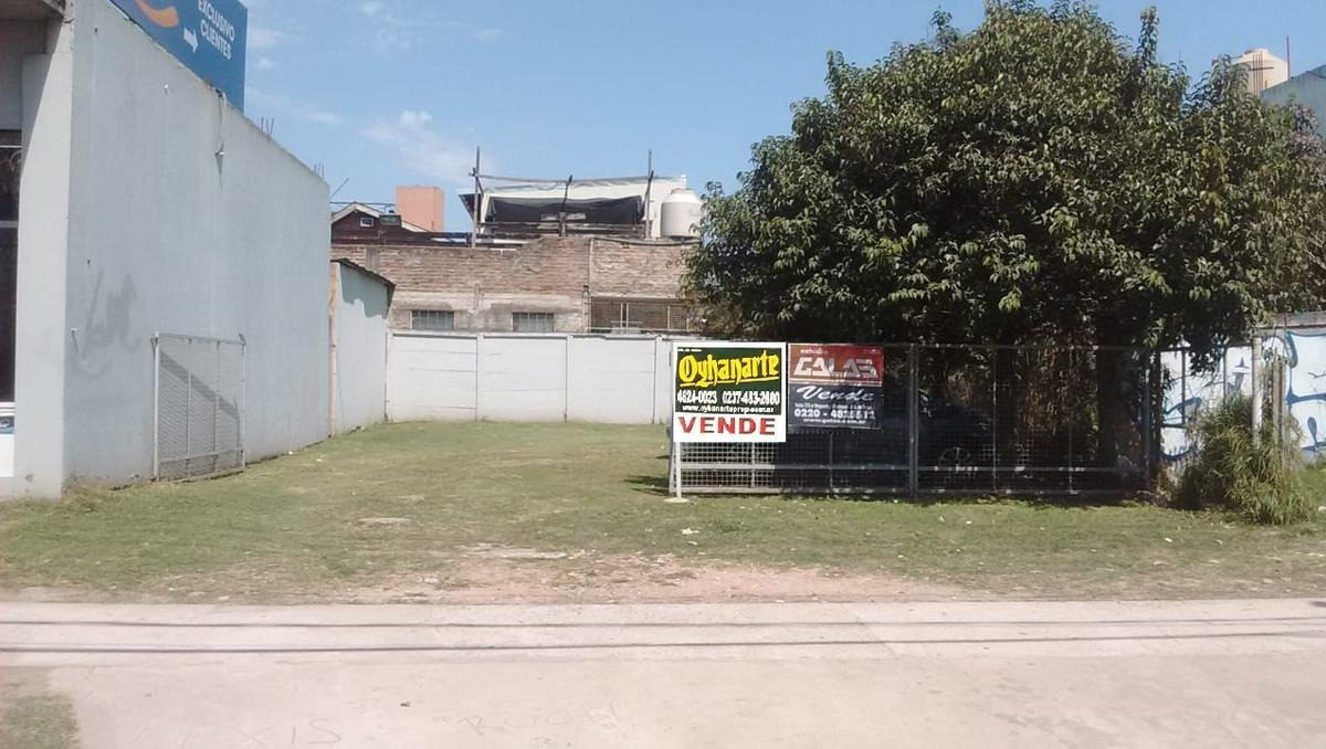 venta de terreno sobre calle real en merlo.