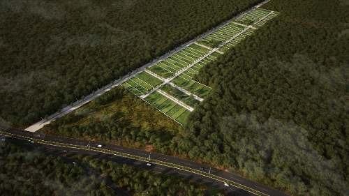 venta de terrenos de inversión en carretera merida-cancun