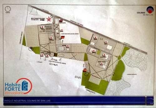 venta de terrenos en carretera rioverde ( parque industrial colinas de san luis)